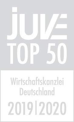 JUVE Top-50 Wirtschaftskanzleien in Deutschland - Graues Logo