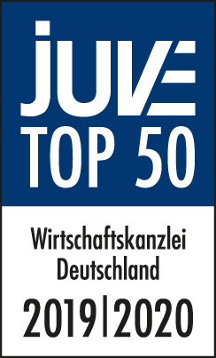 JUVE TOP 50 Corporate law firm in Germany