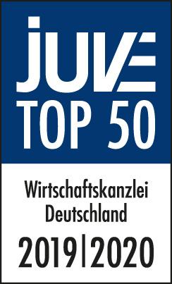JUVE TOP 50 Wirtschaftskanzleien in Deutschland