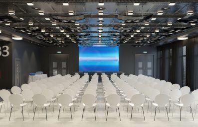 Leerer Konferenzsaal