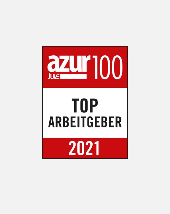 Azur Top 100 Arbeitgeber GSK Stockmann