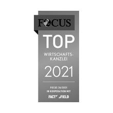 FOCUS Top Wirtschaftskanzlei 2021